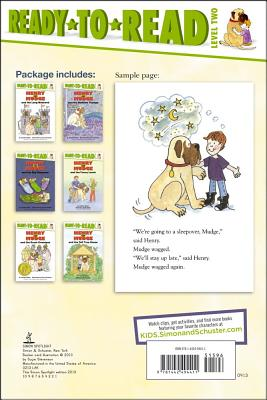 Henry and Mudge Ready-to-Read Value Pack 2 By Rylant, Cynthia/ Stevenson, Sutie (ILT)